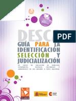 Guia para la identificación, selección y judicialización  en casos DESC