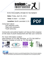 Youth Summit Flyer April 20