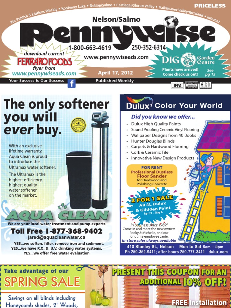 Nelson Pennywise Apr 17 | Flooring | Advertising on