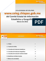 Reporte Sitio Web CEIEG Marzo 2012