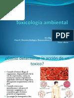 Toxicología ambiental-clase 2