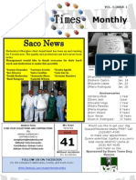 Newsletter Jan. 2012