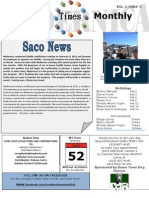 Newsletter Feb 2012