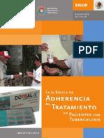 Guia Basica de Adherencia al Tratamiento en Pacientes Con TB