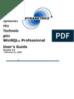 Manual Completo Winsql