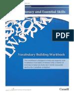 Vocabulary Building Workbook