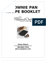 BROWNIE PAN Receipt Booklet