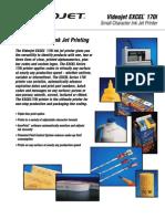 VJ Excel 170i Brochure