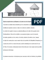 Espacios arquitectónicos prehispánico en la parte este de la hispaniola