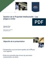 PI - Presentation Atelier AQA 2010
