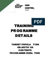 070101 Hrdc Training Programme Details Booklet
