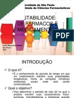 Aula de estabilidade - HPLC em análise toxicológica