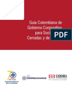 Guía colombiana de gobierno corporativo para sociedades cerradas y de familia