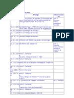 Calendario Litúrgico 2007