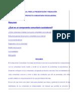 Elaboracion de Proyectos rio Sociolaboral Mision Ribas