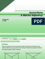 Graphs 2 - A. Isomorphism & Matrix Adjacency - TV - ID