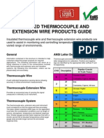 Thermocouple Catalog