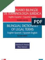 Diccionario Jurídico Bilingüe Inglés-Español 96e9bc0b4ba1