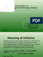 Union Budget and Managing Inflation