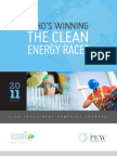 Who is Winning the Clean Energy Race, 2012