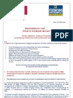 PropositionsUMPTourisme2012-2017