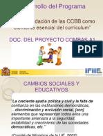 Desarrollo Del Programa COMBAS CP XOVE