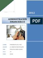 rio Adm Financier A II