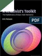 Relativist's Toolkit the Mathematics of Black-Hole Mechanics
