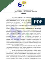 RELATÓRIO DO CONSELHO TUTELA DE CUBATI