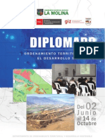 Diplomado Ordenamiento Territorial para el Desarrollo Sostenible (4ª Edición)