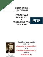 Ley de Ohm - Problemas