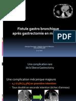 Fistules Gastro Bronchiques Def