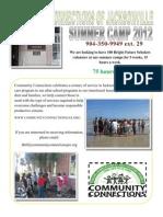 Summer Camp Volunteer