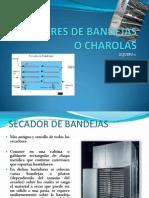 Secadores de Bandejas o Charolas