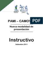 Instructivo Nueva Presentación PAMI Camoyte