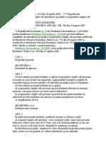 HG 454 privind stabilirea condiţiilor de introducere pe piaţă a recipientelor simple sub presiune