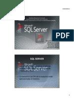 Presentación de SQL Server