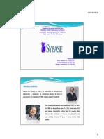 Presentación de SyBase
