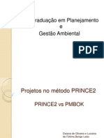 Projetos no método PRINCE2