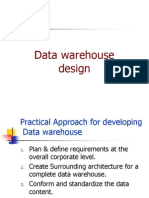 Data Warehouse Design