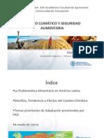 Seguridad Aliment Aria y Cambio Climatico