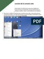 Configuración de Consola CakePHP