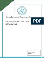 Circularity & Cylindricity
