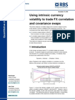 FX Correlation and Cov Swaps