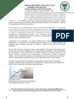 Comunicado de Prensa 17/04/2012