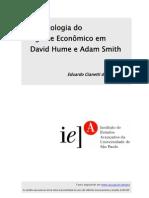A Psicologia do Agente Econômico Em Hume e Smith - Eduardo G. da Fonseca