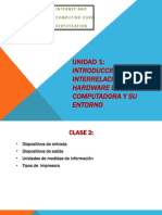 UNIDAD 1- Clase2 - Inter Re Lac Ion Hardware y Software