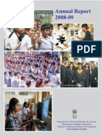 India Education - Govt Report.2009