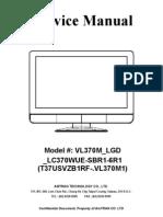 Vizio VL370M Service manual