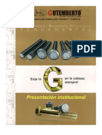 Catalogo tornillos - GUTEMBERTO